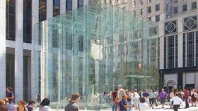 蘋果直營店 Apple Store 翻攝維基百科 美國紐約