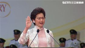 香港,特首,林鄭月娥,就職,習近平,宣誓