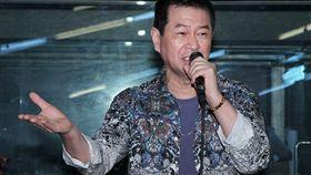 台語天王蔡小虎將在台北、台中開唱「福虎生風幸福送乎你」演唱會,台語歌后 龍千玉、朱海君送上元氣湯。(記者邱榮吉/攝影)