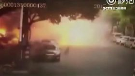 南京餐館突爆炸 威力強大炸飛路人