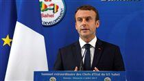 法國總統馬克宏(圖/路透社/達志影像)