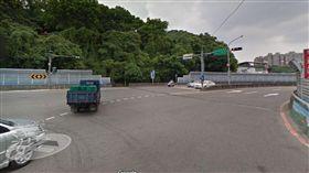 新店,車禍,機車,左轉 圖/翻攝自Google Map