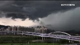 雲瀑降暴雨1200