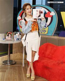 「安安大明星」星光小公主李宣榕來啦。(記者邱榮吉/攝影)