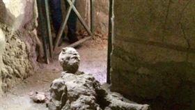 古羅馬,龐貝,Pompeii,古遺骸,打手槍,自慰,火山碎屑湧浪(IG https://www.instagram.com/p/BVHhxpyhlPo/)