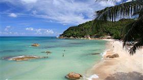 泰國,蘇美島,海灘(google map)