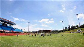 國立體大田徑場八月將舉行臺北世大運射箭預賽。(圖/世大運提供)