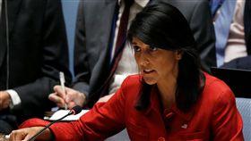 ▲美國駐聯合國大使海利(Nikki Haley)。(圖/路透社/達志影像)