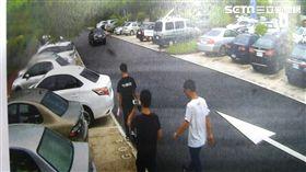 警方循線逮捕教唆開槍的余嫌等4人。(圖/翻攝畫面)