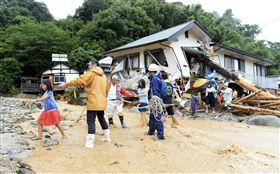 九州破紀錄暴雨  6死8傷逾千人受困_路透社/達志影像