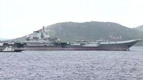 遼寧艦訪港1200
