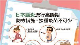 疾管署提醒,接種疫苗為最有效預防日本腦炎的方法。(圖/疾管署提供)