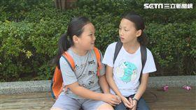 新竹市東園國小三年級男童李承諺留長髮捐癌症病童做假髮。
