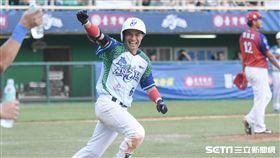中華職棒紅白明星對抗賽,張正偉 圖/記者林敬旻攝