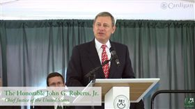 John Roberts,畢業,致詞,Cardigan Mountain School,祝福,大法官 (圖/翻攝自YouTube)