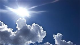 晴天,晴朗,炎熱,好天氣, 圖/Pixabay