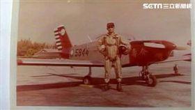 飛官、飛行員、飛機、戰機、退役飛官田定忠/資料照