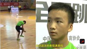 神童30秒跳繩226下破世界紀錄 裁判重播8次看傻眼 ▲圖/翻攝自中國快報YouTube
