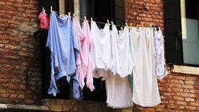 曬衣服、晾衣服/pixabay