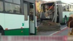 公車斷兩截1800