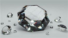 鑽石(圖/Pixabay)