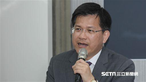 民進黨中常會台中市長林佳龍 圖/記者林敬旻攝