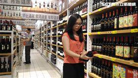 葡萄酒。(圖/大潤發提供)