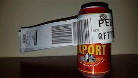 澳洲,託運,飛機,啤酒/翻攝Dean Stinson臉書