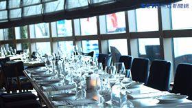 公主遊輪盛世公主號餐廳。(圖/記者馮珮汶攝)