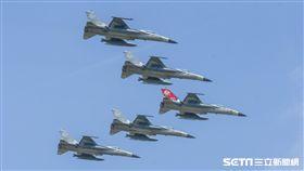 空軍第四二七戰術戰鬥機聯隊IDF型戰機接機25周年活動 圖/記者林敬旻攝