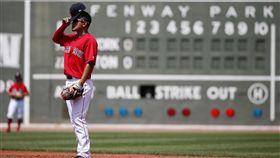 ▲波士頓紅襪內野手林子偉獲得先發二壘手機會,但未能擊出安打。(圖/美聯社/達志影像)