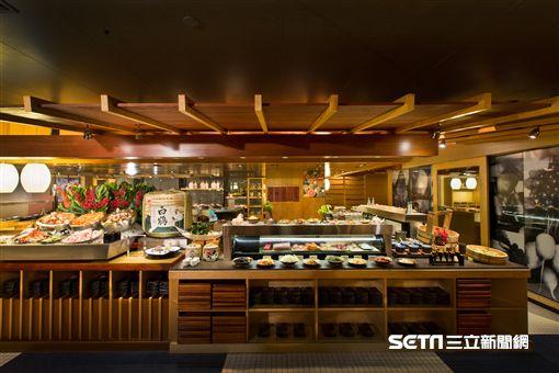 彩日本料理吃到飽。(圖/君悅酒店提供)
