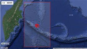 地震,美國,阿拉斯加,海嘯 圖/翻攝自emsc-csem.org