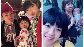 黃鐙輝,萁萁,萁媽,染髮,女兒,荒唐(翻攝自/萁萁的黃三寶、黃鐙輝臉書)