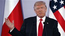 美國總統川普,Donald Trump (圖/美聯社/達志影像)