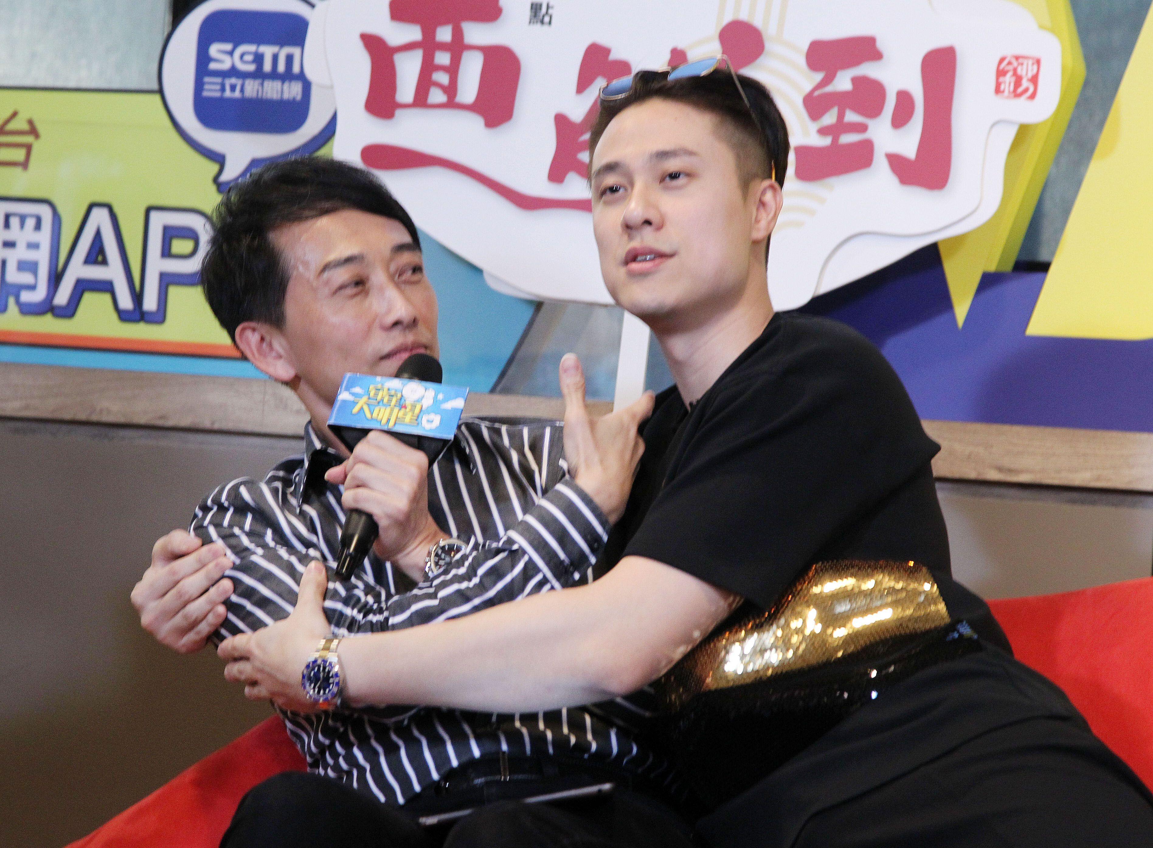「安安大明星」劉書宏來啦。(記者邱榮吉/攝影)