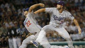 ▲洛杉磯道奇王牌投手Clayton Kershaw奪下大聯盟最多15場勝投。(圖/美聯社/達志影像)