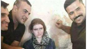 伊拉克,戰俘,IS,士兵,少女(圖/翻攝自每日郵報)