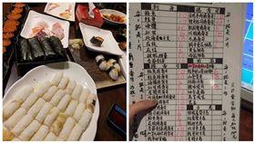 壽司吃到飽遭浪費 奧客這樣回... 圖翻攝自爆怨公社