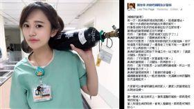 醫院,護理師,暖心,正妹,魏智偉 圖/翻攝自臉書魏智偉 奔跑吧鋼鐵急診醫師