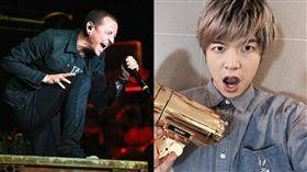 聯合公園,Linkin Park,查斯特,Chester Benningto, 圖/翻攝自八三夭阿璞臉書