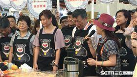 陳建仁、賀陳旦、柯文哲出席台灣2017美食展 盧冠妃攝