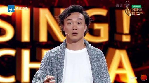 《中國新歌聲2》,那英,陳奕迅,周杰倫,劉歡,十年。(圖/翻攝自YouTube)