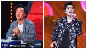 陳奕迅,周杰倫,中國新歌聲,告白氣球,咬字,口齒不清,自嘲 圖/翻攝自微博