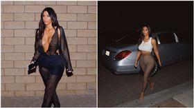 金卡達夏,Kim Kardashian,圖/the sun、IG