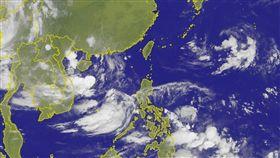0724衛星雲圖、全台氣溫/中央氣象局