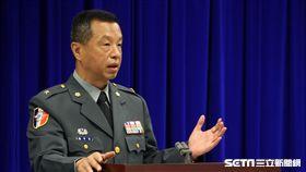 國防部發言人陳中吉 邱榮吉攝