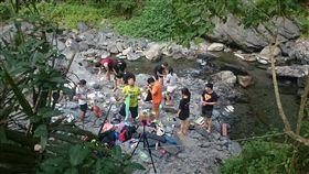 茂林,國家風景區,保育區,烤肉,大自然,環境,釣魚,垃圾,破壞 (圖/爆料公社)