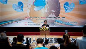 副總統陳建仁出席「2017年防制人口販運國際工作坊」 圖/總統府提供