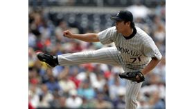 ▲曹錦輝是首位升上大聯盟的台灣投手。(資料照/美聯社/達志影像)